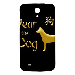 Year Of The Dog   Chinese New Year Samsung Galaxy Mega I9200 Hardshell Back Case by Valentinaart