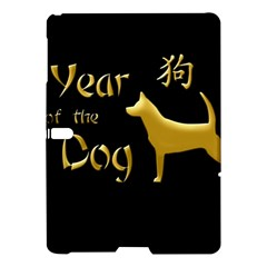 Year Of The Dog   Chinese New Year Samsung Galaxy Tab S (10 5 ) Hardshell Case  by Valentinaart