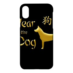 Year Of The Dog   Chinese New Year Apple Iphone X Hardshell Case