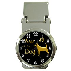 Year Of The Dog   Chinese New Year Money Clip Watches