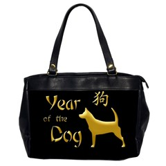 Year Of The Dog   Chinese New Year Office Handbags (2 Sides)  by Valentinaart