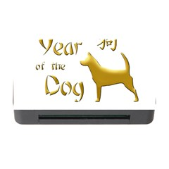 Year Of The Dog   Chinese New Year Memory Card Reader With Cf by Valentinaart