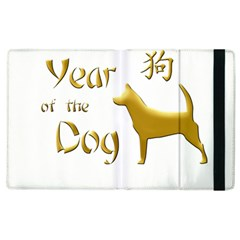 Year Of The Dog   Chinese New Year Apple Ipad 2 Flip Case by Valentinaart
