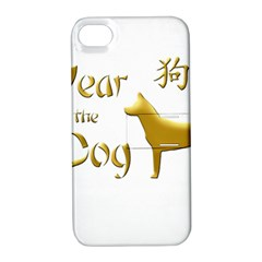 Year Of The Dog   Chinese New Year Apple Iphone 4/4s Hardshell Case With Stand