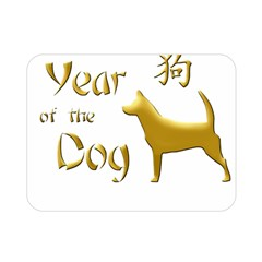 Year Of The Dog   Chinese New Year Double Sided Flano Blanket (mini)  by Valentinaart