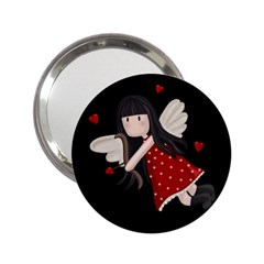 Cupid Girl 2 25  Handbag Mirrors by Valentinaart