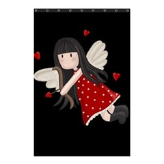 Cupid Girl Shower Curtain 48  X 72  (small)  by Valentinaart