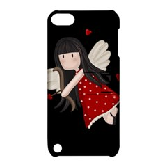 Cupid Girl Apple Ipod Touch 5 Hardshell Case With Stand