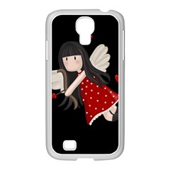 Cupid Girl Samsung Galaxy S4 I9500/ I9505 Case (white)