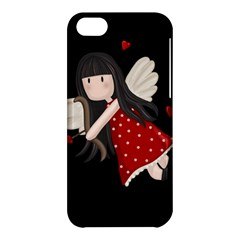 Cupid Girl Apple Iphone 5c Hardshell Case by Valentinaart
