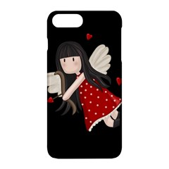 Cupid Girl Apple Iphone 8 Plus Hardshell Case by Valentinaart