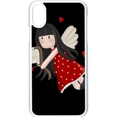 Cupid Girl Apple Iphone X Seamless Case (white) by Valentinaart