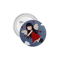 Cupid Girl 1 75  Buttons by Valentinaart