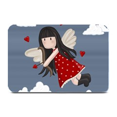 Cupid Girl Plate Mats by Valentinaart