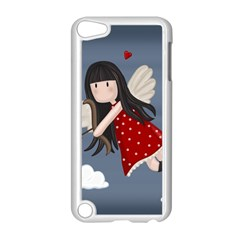 Cupid Girl Apple Ipod Touch 5 Case (white) by Valentinaart