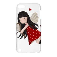 Cupid Girl Apple Ipod Touch 5 Hardshell Case by Valentinaart
