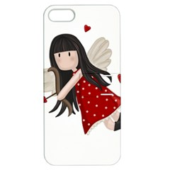 Cupid Girl Apple Iphone 5 Hardshell Case With Stand by Valentinaart