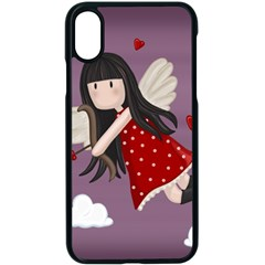 Cupid Girl Apple Iphone X Seamless Case (black) by Valentinaart