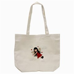 Cupid Girl Tote Bag (cream)