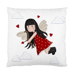 Cupid Girl Standard Cushion Case (one Side) by Valentinaart