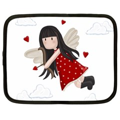 Cupid Girl Netbook Case (xl)