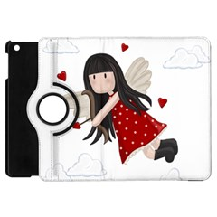 Cupid Girl Apple Ipad Mini Flip 360 Case