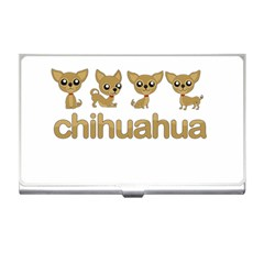 Chihuahua Business Card Holders by Valentinaart