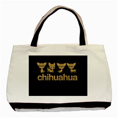 Chihuahua Basic Tote Bag (two Sides) by Valentinaart