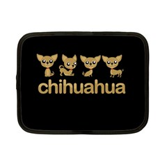 Chihuahua Netbook Case (small)  by Valentinaart