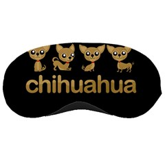 Chihuahua Sleeping Masks by Valentinaart
