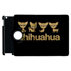Chihuahua Apple Ipad 3/4 Flip 360 Case by Valentinaart