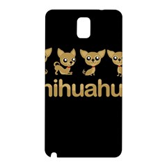 Chihuahua Samsung Galaxy Note 3 N9005 Hardshell Back Case by Valentinaart
