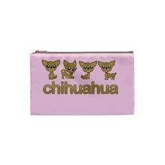 Chihuahua Cosmetic Bag (small)
