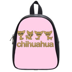 Chihuahua School Bag (small) by Valentinaart