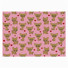 Chihuahua Pattern Large Glasses Cloth