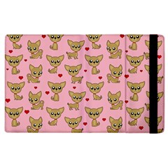 Chihuahua Pattern Apple Ipad 3/4 Flip Case by Valentinaart