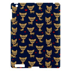 Chihuahua Pattern Apple Ipad 3/4 Hardshell Case by Valentinaart