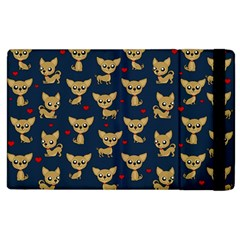 Chihuahua Pattern Apple Ipad 3/4 Flip Case