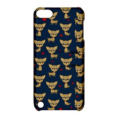 Chihuahua Pattern Apple Ipod Touch 5 Hardshell Case With Stand