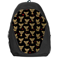 Chihuahua Pattern Backpack Bag by Valentinaart
