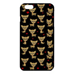 Chihuahua Pattern Iphone 6 Plus/6s Plus Tpu Case by Valentinaart