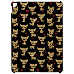 Chihuahua Pattern Apple Ipad Pro 12 9   Hardshell Case by Valentinaart