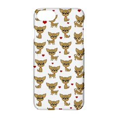 Chihuahua Pattern Apple Iphone 8 Hardshell Case by Valentinaart