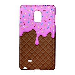 Chocolate And Strawberry Icecream Galaxy Note Edge by jumpercat