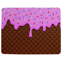 Chocolate And Strawberry Icecream Jigsaw Puzzle Photo Stand (rectangular) by jumpercat