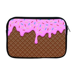 Chocolate And Strawberry Icecream Apple Macbook Pro 17  Zipper Case by jumpercat