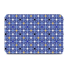 Persian Block Sky Plate Mats by jumpercat