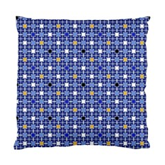 Persian Block Sky Standard Cushion Case (one Side) by jumpercat