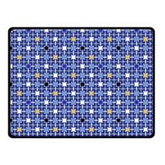 Persian Block Sky Double Sided Fleece Blanket (small)