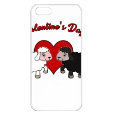 Valentines Day   Sheep  Apple Iphone 5 Seamless Case (white) by Valentinaart
